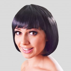 China Doll Wig Black