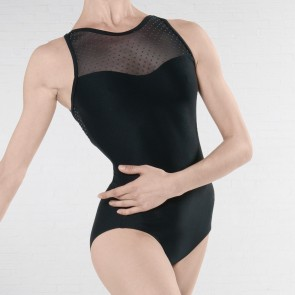 Wear Moi Merveille Body Senza Manica con Incrocio Posteriore