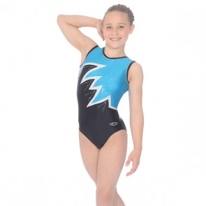 The Zone Fantasia Round Neck Sleeveless Leotard