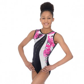The Zone Carnival Round Neck Sleeveless Leotard