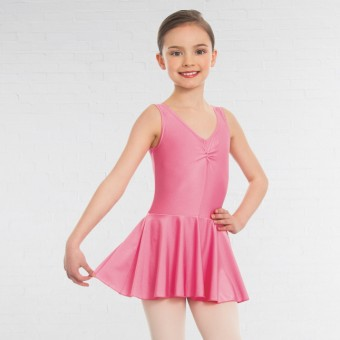 1st Position Amy Skirted Leotard (Light Raspberry)