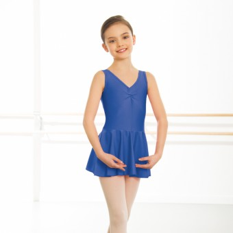 1st Position Amy Skirted Leotard  (Royal Blue)