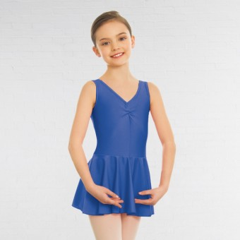 1st Position - Maillot Amy con Falda (Royal Blue)