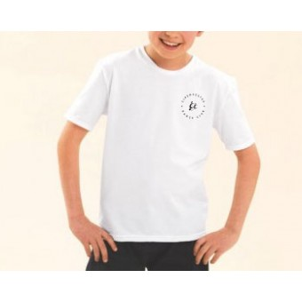 PP *#108#* 1st Position Boys Short Sleeved T-Shirt with Cirencester Dance Club Logo