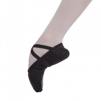 Capezio Unisex Ballet Shoes (Black)