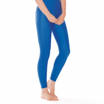 1st Position Footless Tights Nylon (Royal Blue)