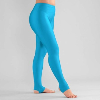 1st Position Stirrup Tights  (Kingfisher)