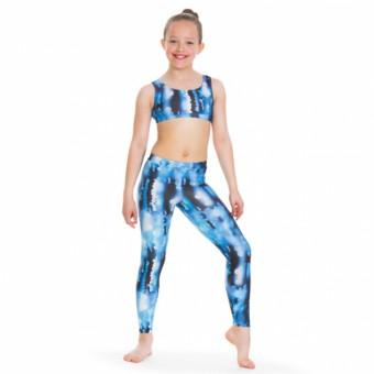 1st Position Print Leggings (Blue)