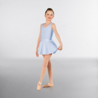 1st Position Circular Skirt (Pale Blue)