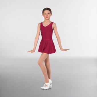 1st Position Circular Skirt (Carnation)