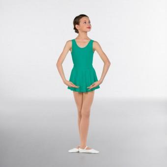 1st Position Circular Skirt (Vert Green)