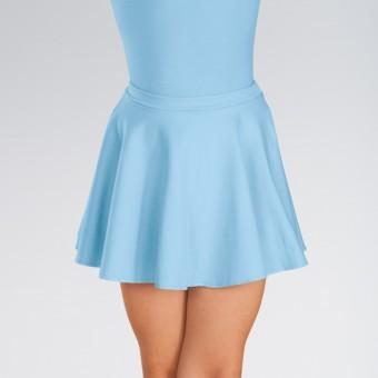 1st Position Circular Skirt Cotton (Pale Blue)