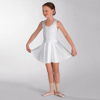 1st Position Circular Skirt Cotton (White)