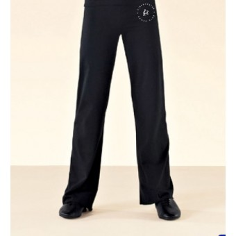 PP *#1#* 1st Position Jazz Pants Cotton (Black) with Cirencester Dance Club Logo