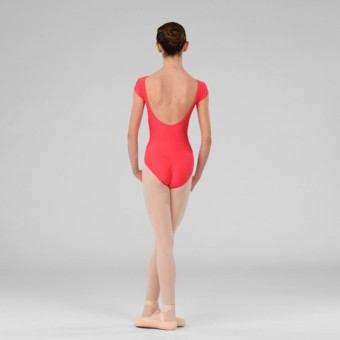 ABT Jenna Levels 4/5/6/7 Cap Sleeved Leotard (Coral)