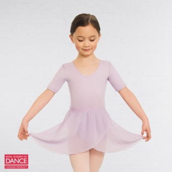 Little Ballerina RAD Approved Wrapover Pre-Primary & Primary in Dance Skirt (Lilac)