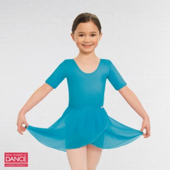 Little Ballerina RAD Approved Wrapover Pre-Primary & Primary in Dance Skirt (Marine)