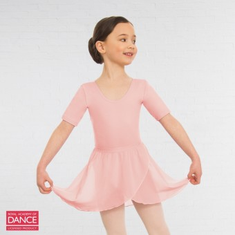 Little Ballerina RAD Approved Wrapover Pre-Primary & Primary in Dance Skirt (Pink)