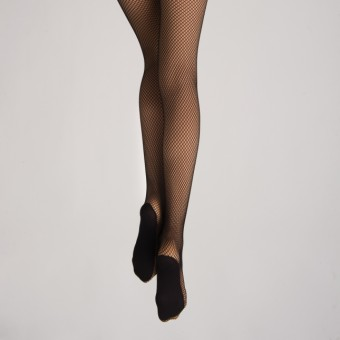Silky Dance Professional Fishnet Tights (Black)