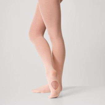 1st Position Convertible Tights Pink - Small/ Medium