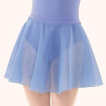 Adagio ISTD Circular Chiffon Skirt (Sky Blue)