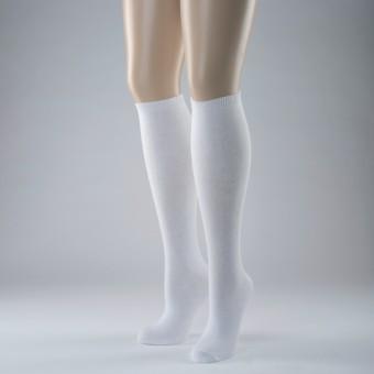 Knee High Socks Plain (White)