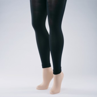 Footless Tights 40 Denier - Adult One Size Black