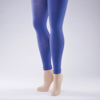 Footless Tights 40 Denier - Adult One Size Purple