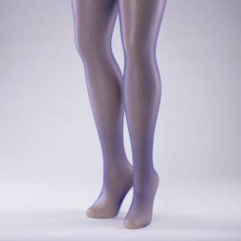 Fishnet Tights Adult One Size Purple