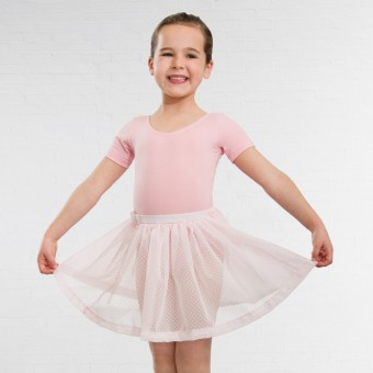 1st Position Voile Skirt (Pale Pink)