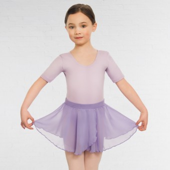 Child Pull On Georgette Skirt (Lilac)