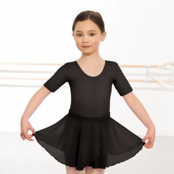 Child Pull On Georgette Skirt (Black)