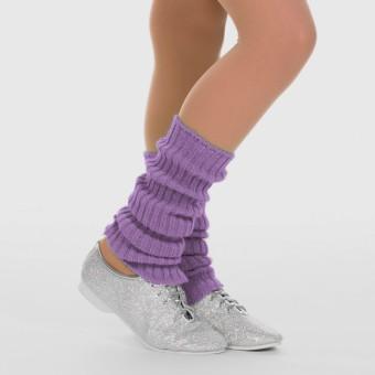 1st Position Stirrup Anklewarmers - 40cm Lavender