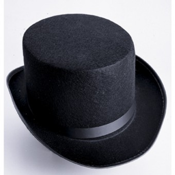 Black Economy Felt Top Hat