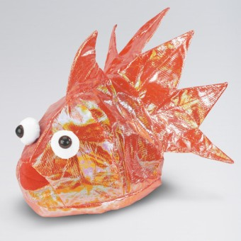 Orange Goldfish Hat