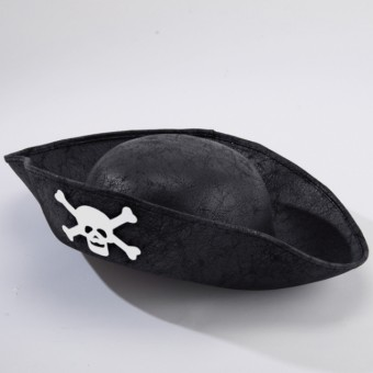 Pirate Hat Black - Childs Size