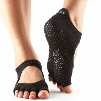 ToeSox Bellarina ohne Zehen (Black)