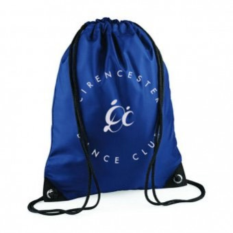 PP *#1#* Gymsac French Navy with Cirencester Dance Club Logo