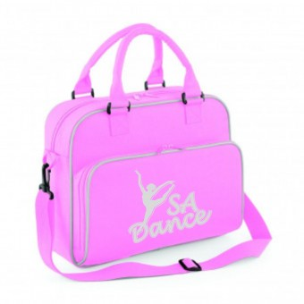 PP *#170105#* Junior Dance Bag Pink with S A Dance Logo