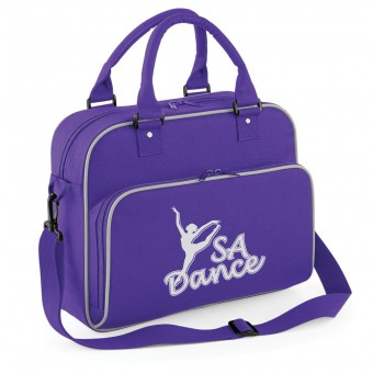 PP *#170104#* Junior Dance Bag Purple with S A Dance Logo
