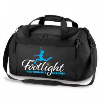 Holdall Black with Footlight Performance Academy Logo
