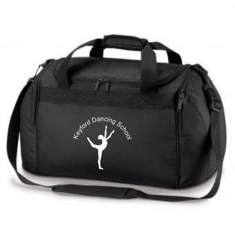 PP *#261101#* Holdall Black with Avon and Keyford Dance Logo - KEYFORD LOGO