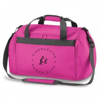 PP *#1#* Holdall Fuchsia with Cirencester Dance Club Logo