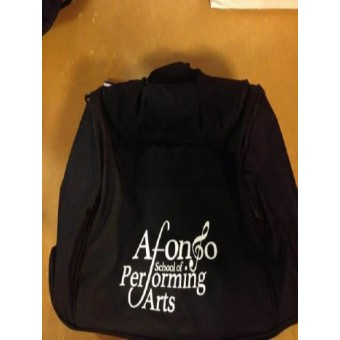 Holdall Black with Afonso School of Performing Arts Logo