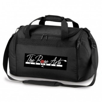 PP*#319#* Holdall Black with The Rose Arts London Logo