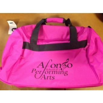 Holdall Fuchsia with Afonso School of Performing Arts Logo