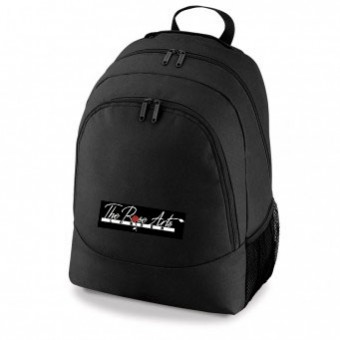 PP*#318#* Backpack Black with The Rose Arts London Logo