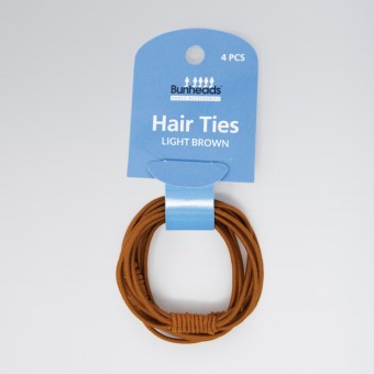 Bunhead Hair Ties Light Brown