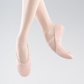 Bloch Arise Full Sole Leather Ballet Shoe (Theatrical Pink)