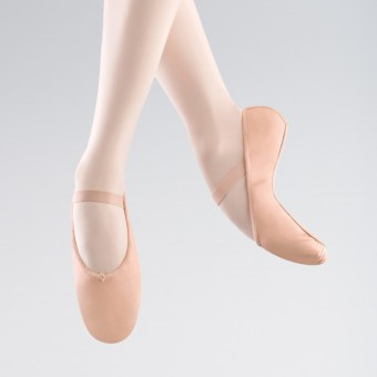 Bloch Arise Full Sole Leather Ballet Shoe (Pink)